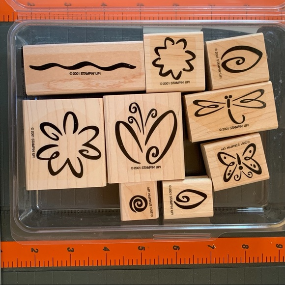 Stampin' Up! FRESH FLOWERS two-step Stampin
